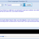 Free Languages Translator freeware screenshot