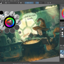 Krita for Mac OS X freeware screenshot