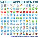 24x24 Free Application Icons freeware screenshot