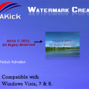 AKick Watermark Creator freeware screenshot