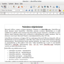 LibreOffice for Linux freeware screenshot