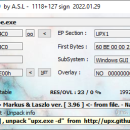 ExEinfo PE Win32 bit identifier freeware screenshot