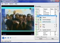 JLC's Internet TV freeware screenshot