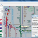 qMetro freeware screenshot