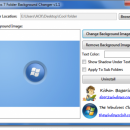 Windows 7 Folder Background Changer freeware screenshot