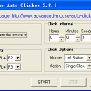 Free Mouse Auto Clicker freeware screenshot