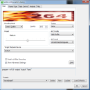 x264 Video Codec (32bit) freeware screenshot