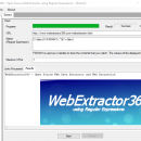 WebExtractor360 freeware screenshot