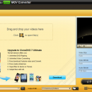 CloneDVD Studio Free MOV Converter freeware screenshot