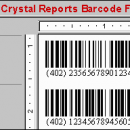 Crystal Reports Barcode Font Encoder UFL freeware screenshot