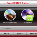 Free CD DVD Burner freeware screenshot