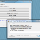 LocK-A-FoLdeR freeware screenshot