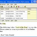 Free Email Marketing: Broadcast By Email freeware screenshot
