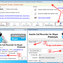 Amolto Call Recorder for Skype freeware screenshot