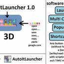 Autoitlauncher freeware screenshot