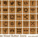 Free Wood Button Icons freeware screenshot