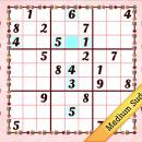 Medium Valentine's Day Sudoku freeware screenshot