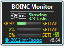 BOINC Monitor freeware screenshot