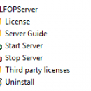 J4L FOP Server freeware screenshot