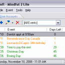 Mindful Lite freeware screenshot