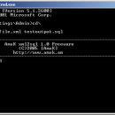 AmoK xml2sql freeware screenshot