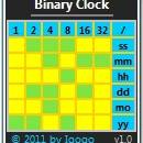 Binary Clock freeware screenshot