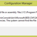 CM2012 Console MDT Integration Error Fix freeware screenshot