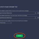 Avast Clear freeware screenshot