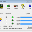 UltraSurf freeware screenshot