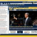 Cal Golden Bears Firefox Browser Theme freeware screenshot