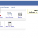 PHP AdminPanel - Control Panel Script freeware screenshot