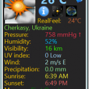 Weather Monitor freeware screenshot