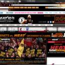 NBA Miami Heat IE Browser Theme freeware screenshot