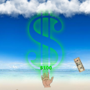 Raining Money freeware screenshot