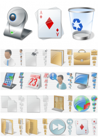 More than 30.000 vista icons freeware screenshot
