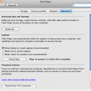 Adobe Flash Player for Mac OS X freeware screenshot