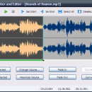 Free MP3 Cutter and Editor freeware screenshot