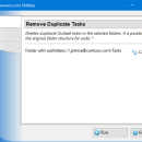 Remove Duplicate Tasks for Outlook freeware screenshot