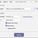Total Validator Tool freeware screenshot