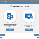 PST Mover freeware screenshot