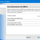 Save Attachments from MBOX for Outlook freeware screenshot