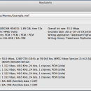 MediaInfo for Mac OS X freeware screenshot