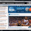 College Basketball IE Browser Theme freeware screenshot