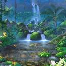 Fascinating Waterfalls Screensaver freeware screenshot