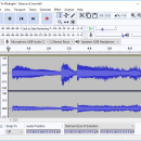 Audacity Portable freeware screenshot