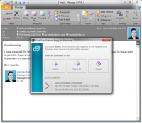 CodeTwo Outlook Reply All Reminder freeware screenshot