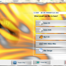 3nity CD DVD BURNER freeware screenshot