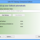 Safe PST Backup for Microsoft Outlook freeware screenshot