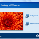 Free Image to PDF Converter freeware screenshot