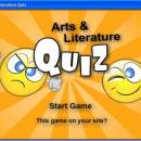 Arts and Literature Quiz freeware screenshot